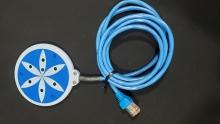 Blue Magnetic Disk